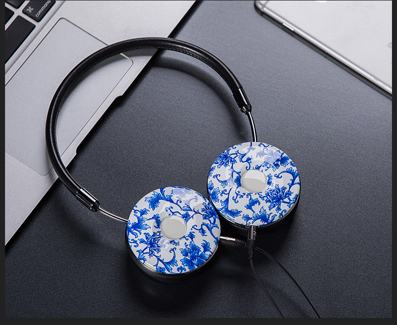 Liboer Headphones Wired On-ear Stereo Headphones for Mobile Phone Best Foldable Headset High Quality Rose Gold Headphone _22