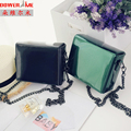Woman 2016 Tassels Small Square Package Korean Chain Leather Light Noodles Mini- Single Shoulder Messenger Packet Dower me