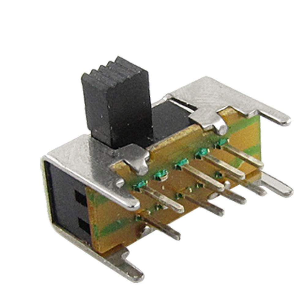 3 pcs DPDT small Slide Switch PCB Mount Alco brand