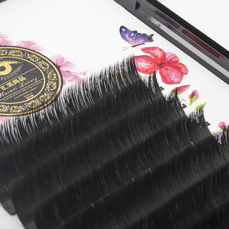 cc5f88e96ab ... ZHIYOU 8 Cases Easy Fan Volume Mega Auto Bloom Grafting False Eyelashes  Extension Thick Novice Plant