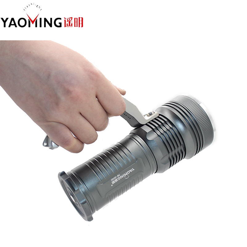 High Power Led Portable Linternas Hand Lamp Hunting Flashlight Rechargeable Waterproof Searchlight Outdoor lighting for Fishing