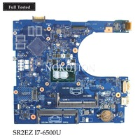NOKOTION CN 0RV4XN 0RV4XN RV4XN Laptop Motherboard For Dell Inspiron 15 5559 AAL15 LA D071P SR2EZ I7 6500U DDR3L Mainboard