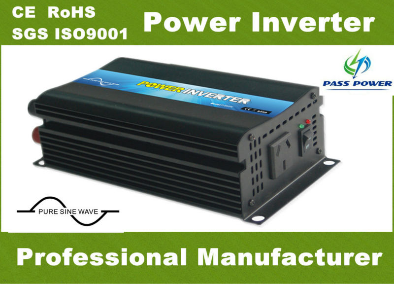 Hot Sale!  pure sine wave off grid single phase inveretr, 600w 12 volt inverter