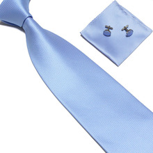 Woven Silk HandMade Men's Tie Cufflinks and Handkerchief Set