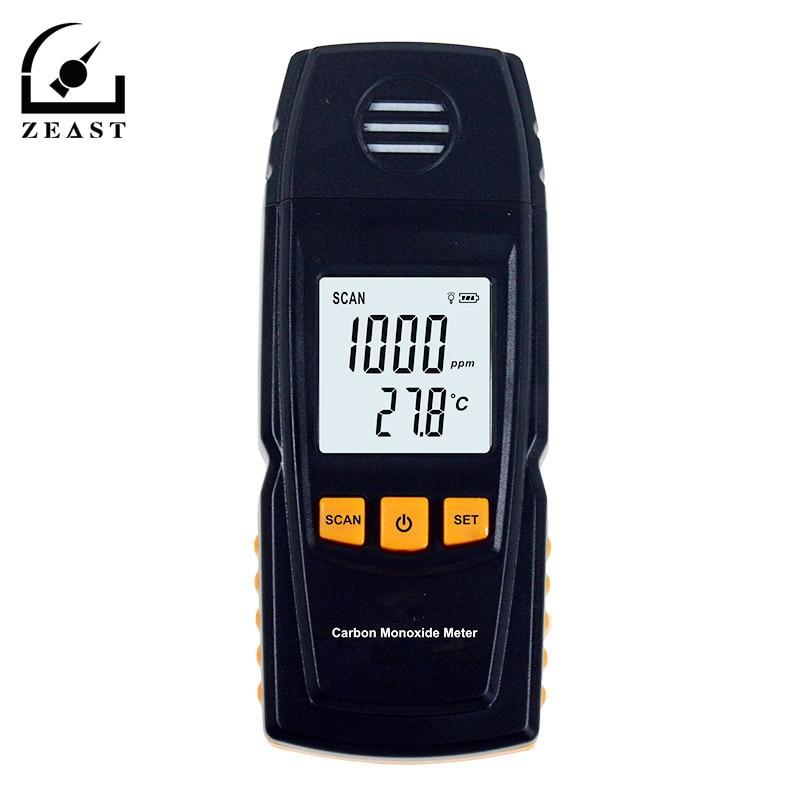 Portable Handheld Carbon Monoxide Meter High Precision CO Gas Detector Analyzer Measuring Range 0-1000ppm Detector De Gas GM880 handheld portable metal detector handheld scanner handheld pro pointer for security screening