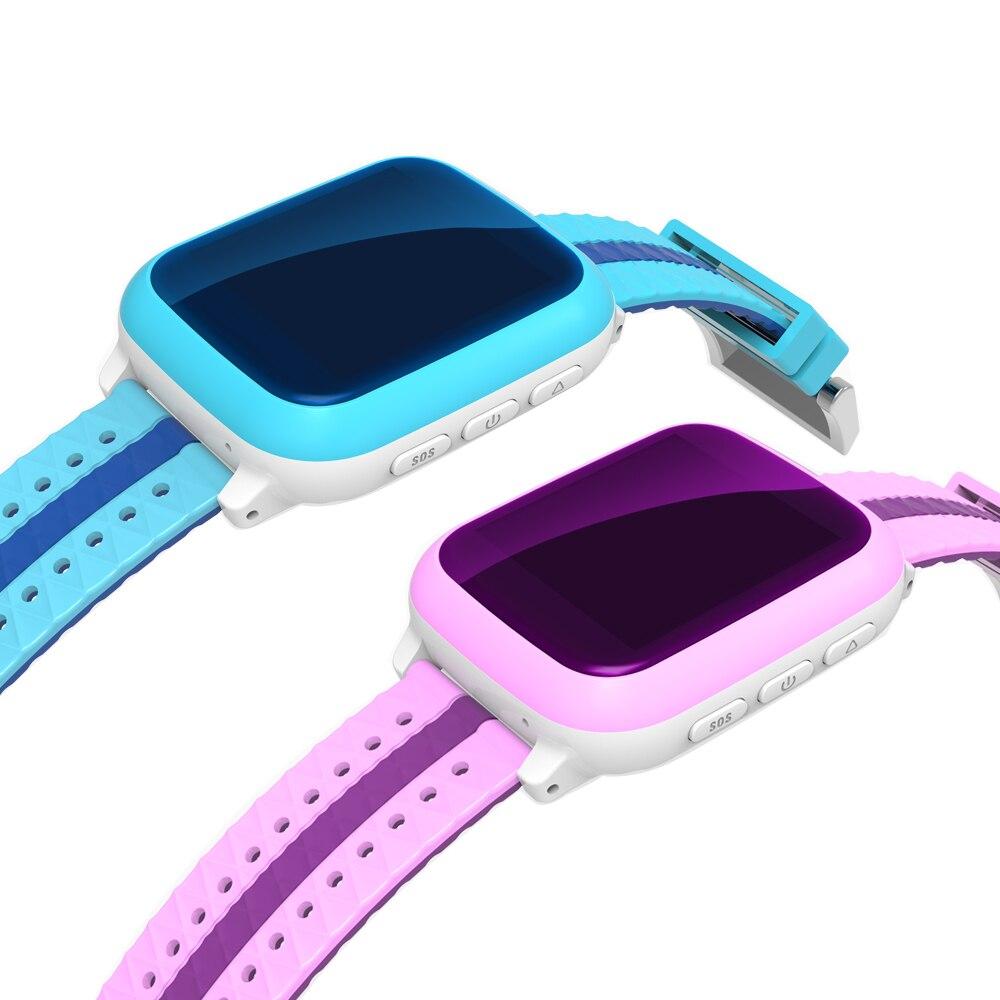 imágenes para 2016 Smart Kid Safe GPS Reloj Reloj SOS de Localización de Llamadas Localizador Del buscador Del Perseguidor para el Cabrito Del Niño Perdido Anti Monitor de Bebé regalo