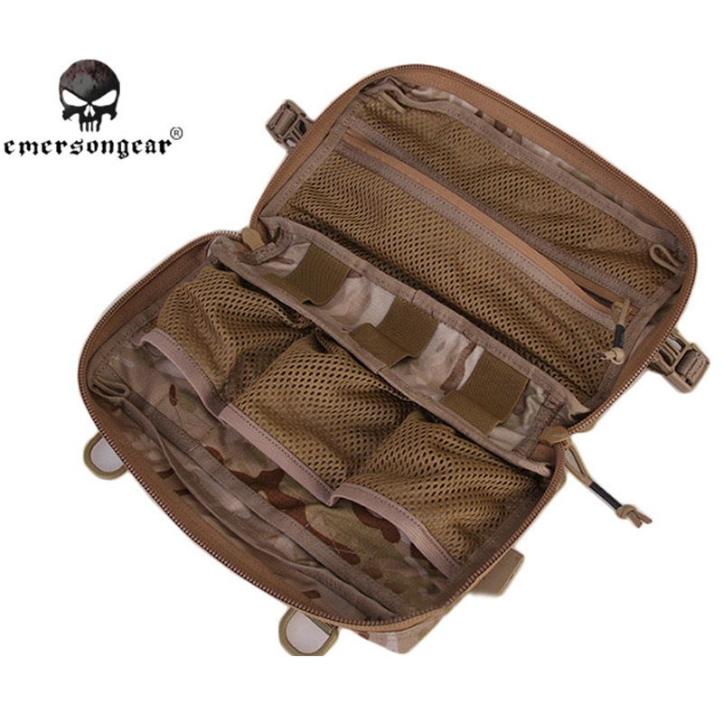 Emerson Utility Pouch MOLLE 500D Nylon Military Multi-functional Sundries Bags Tactical Hunting EDC Bag Tools Pouch Molle emerson molle tactical edc gp op pouch emersongear military hunting airsoft utility accessories admin organizer waist packs bag
