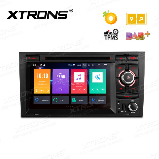 US $330 33 23% OFF|XTRONS 7'' Android 8 0 Octa Core Radio Car DVD Player  GPS for Audi A4 B6 B7 S4 B7 B6 RS4 2002 2008 RS4 B7 SEAT Exeo 2008 2012-in