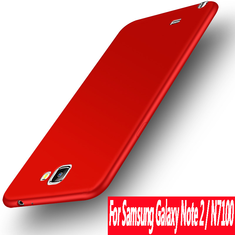 For samsung galaxy note 2 case n7100 silicone Luxury Case For Samsung Galaxy note 2 case cover Note II case soft TPU N719 N7108