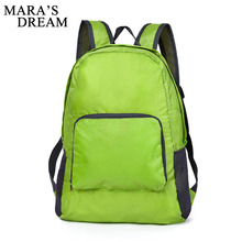 Mara's Dream Women Men Backpack Back Pack Bag Ultra Light Folding Waterproof Travel Nylon Shoulder Bags Soft Rucksack Mochila