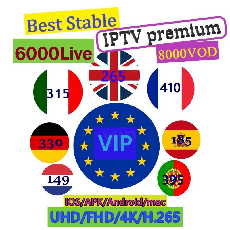 Iptv Italy UK VIP Sport Account Canada USA 6000+ Channels 8000+ VOD France IPTV M3u Subscription IPTV Adult Reseller Panel