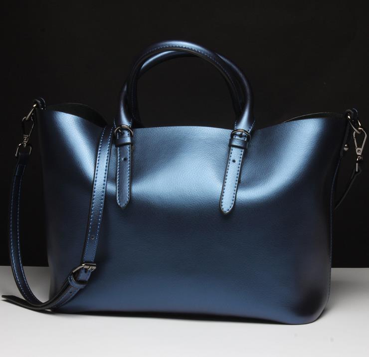 2015 Hot Fashion font b Women s b font Famous Design Genuine Leather Handbag Top Quality