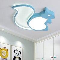 Современные светодиодные потолочные светильники для спальни кабинет детская комната мультфильм потолочный светильник для маленьких дево