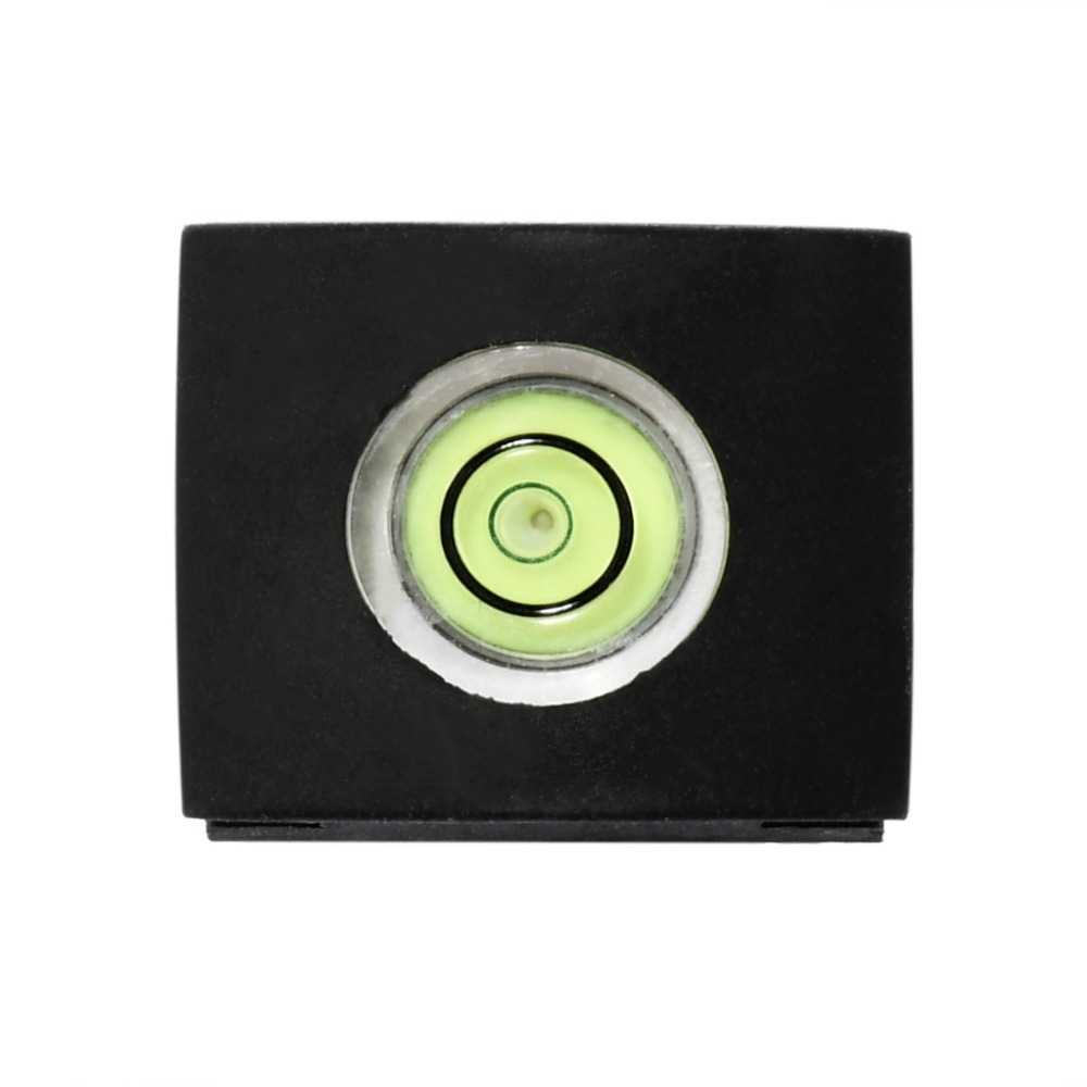 2PCS/lot Camera Bubble Spirit Level Adapter Cover Black Color For Nikon Canon Casio Fuji SAMSUNG BUBBLE LEVEL Adapters