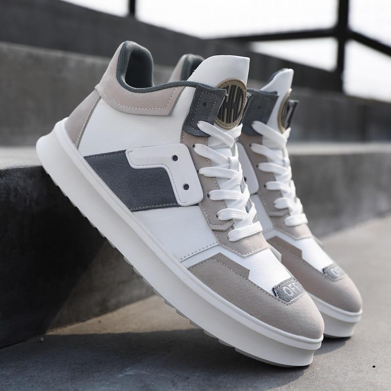 Cómodo Nuevo Adulto Marca Calzado Zapatillas Hombre Suave Chaussures Negro gris De Homme Lujo Bota Macho Krasovki Moda Casuales Zapatos Hombres AxTvqw88