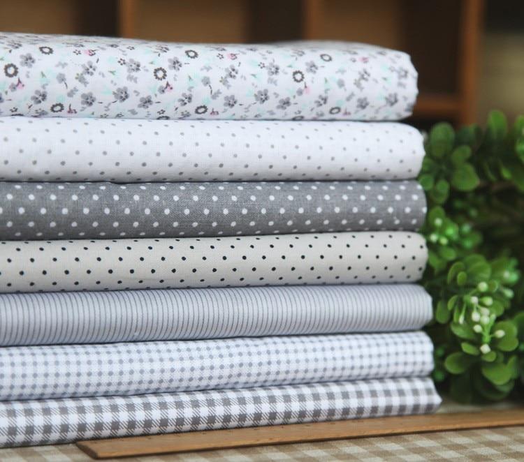 x cm patrones elegante gris de algodn patchwork algodn metros de tela que