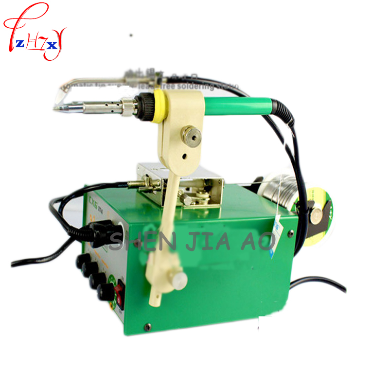 1pc 110/220V 120W Fully automatic tin free solder free spot welding pen soldering station CXG 374H