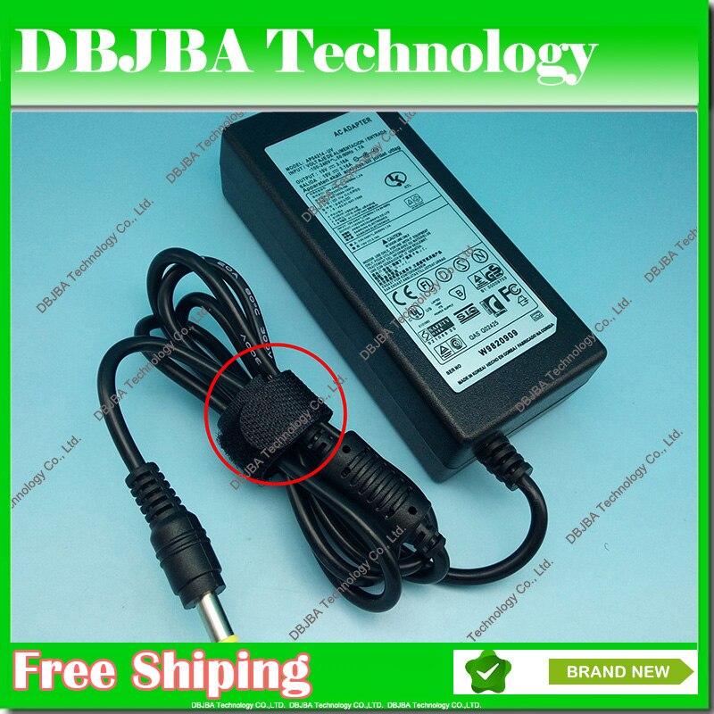 Ordinateur portable 19 V 3.16A 60 W AC Adaptateur 5.5mm * 3.0mm Batterie Chargeur pour Samsung NP-RV408 RV511 NP-RV515 R465 P330 SF410 Adaptateur