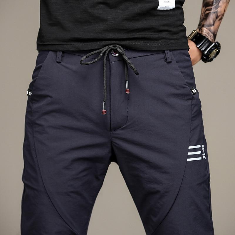 Men Sweatpants Brand Male Cotton Harem Pants Joggers Casual Mens Joggers Solid Trousers for Men