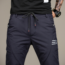 Männer Jogginghose Marke Männlichen Baumwolle Pluderhosen Jogger Casual Mens Joggers Feste Hosen für Männer