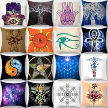 Creative beauty pattern pillow case men women two sides printing square pillow cases home  pillow cover case цена