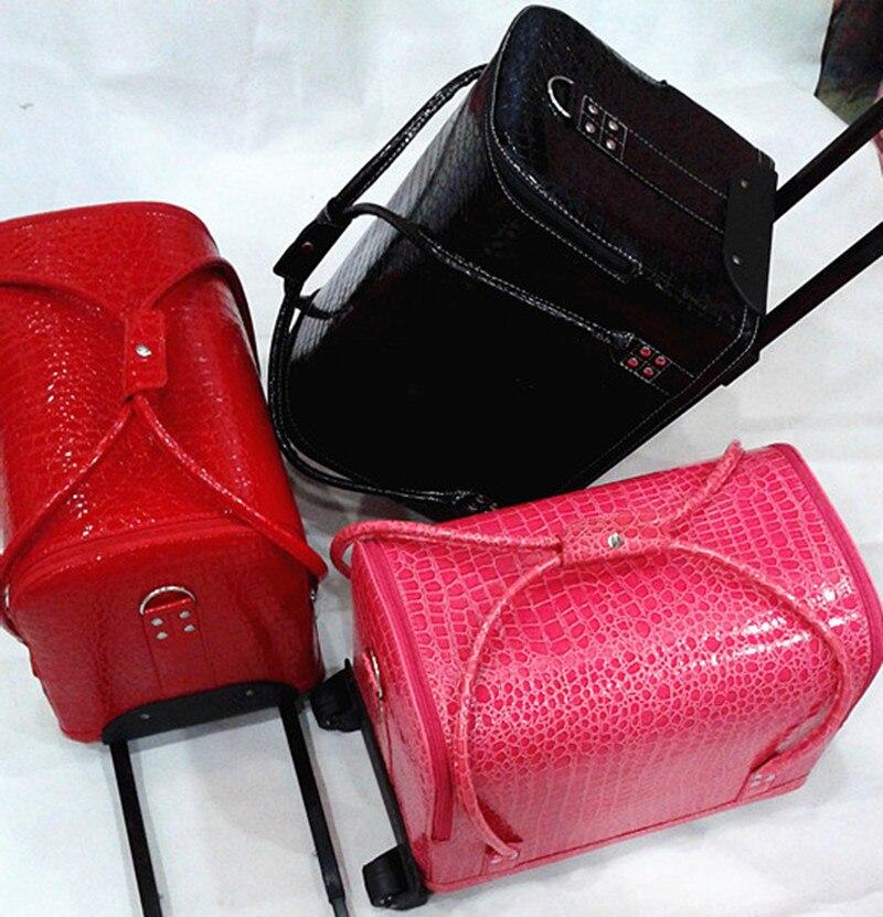 KUNDUI Väskan väska soluppgång professionell makeup kosmetika - Väskor för bagage och resor - Foto 3