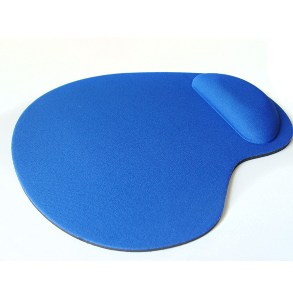 Wrist Protect Optical Trackball PC Thicken Rubber Mouse Pad Support Wrist Comfort Mouse Pad Mat for Game 3 Colors