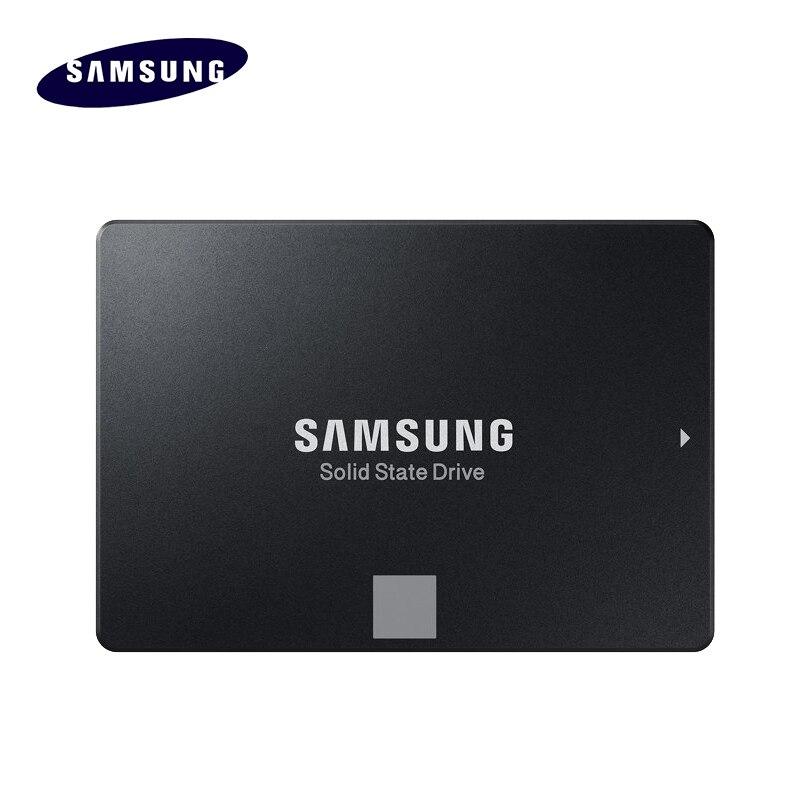 100% original SAMSUNG 860 EVO interna de disco de estado sólido de 250 GB, 500 GB, 1 TB SSD SATA3 2,5 HD duro Drivefor portátil PC de escritorio