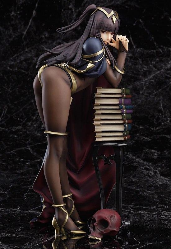 Аниме сексуальная фигура sallya огонь эмблема Пробуждение Tharja 18 см 1/7 Масштаб Сексуальная ПВХ фигурку Коллекционная модель игрушки ЧН ver.