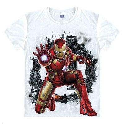 565a428a623 HTB1eVBpnTnI8KJjy0Ffq6AdoVXak - Avengers T Shirt Ironman Captain America  Iron men Hawkeye Black Widow Marvel T-