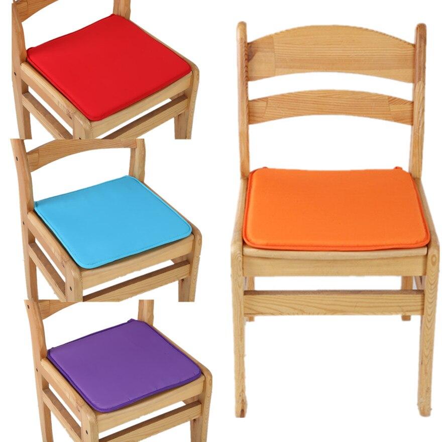 €1.92 47% de réduction Nouveau chaud doux multi couleur jardin bureau  chaise siège Pad intérieur salle à manger mousse Patio coussin cravate sur  ...