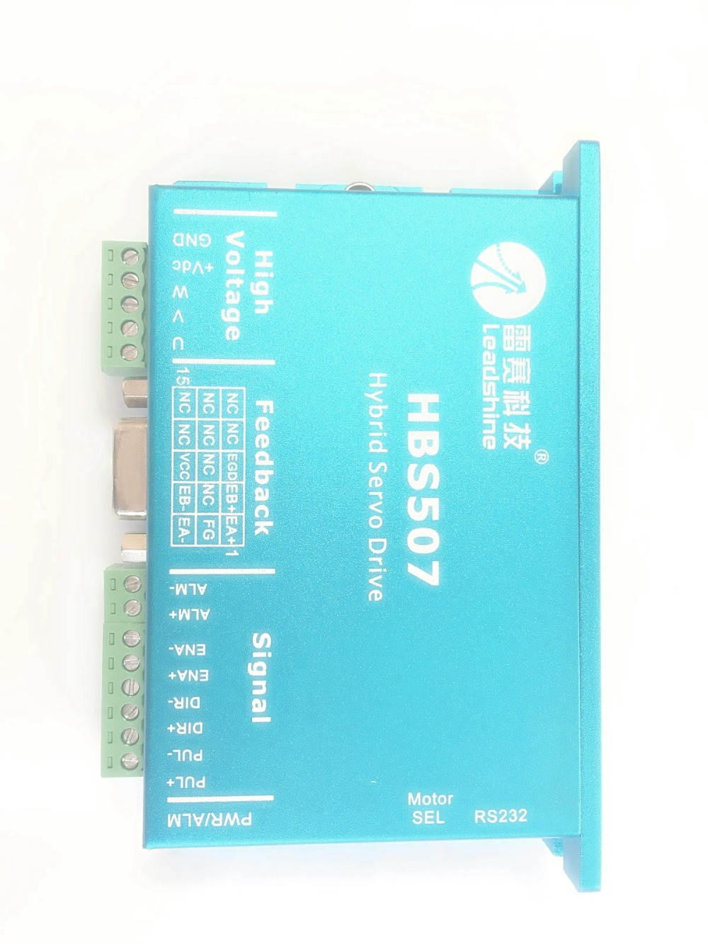 цена на Leadshine HBS507 ES-D508 CNC DSP Closed-Loop Stepper Motor Driver Easy Servo Drive 7A 18~50VDC Matching 57mm NEMA23 motor HBS57