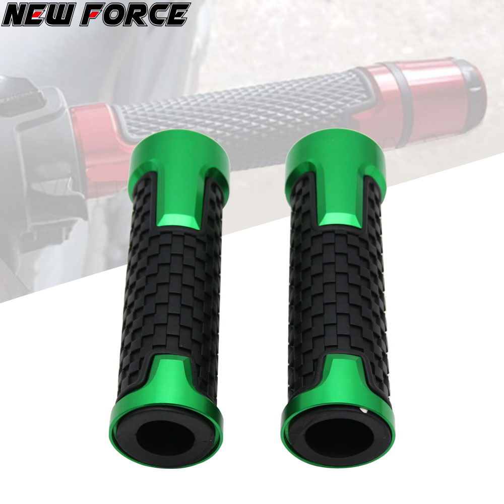 For <font><b>KAWASAKI</b></font> <font><b>Z1000</b></font> Z900 Z650 ER6N/F Z250 ZX6R High Quality Accessories 7/8'' 22MM CNC Motorcycle handle grips racing <font><b>handlebar</b></font> image
