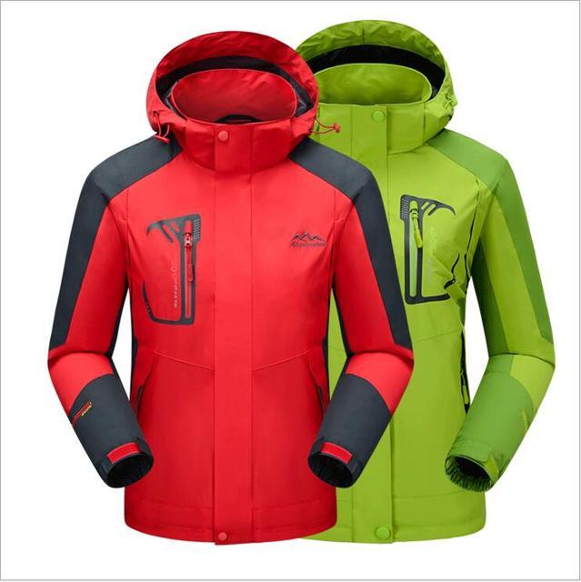 Новый Женщины Мужчины Куртку Водонепроницаемый Моды 2017 Пальто Jaqueta Верхняя Одежда Женщин Ветрозащитный Твердые Куртки Спортивной Верхняя Одежда М-5XL