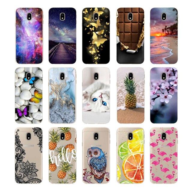 Case For Coque Samsung Galaxy J3 2017 Case Silicone 5.0''for Capa Samsung J3 2017 Case Cover Cute for Capa Samsung J3 2017 j330F