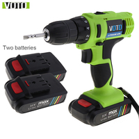 VOTO AC 100 240V Cordless 21V Electric Screwdriver With Lithium Battery And Two Speed Adjustment Button