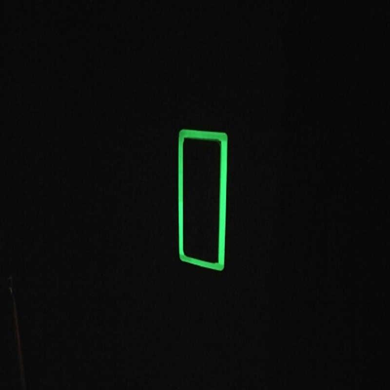 20 مللي متر مضيئة الشريط الذاتي لاصق الشريط للرؤية الليلية توهج في الظلام السلامة تحذير الأمن المرحلة أشرطة المنزل الديكور