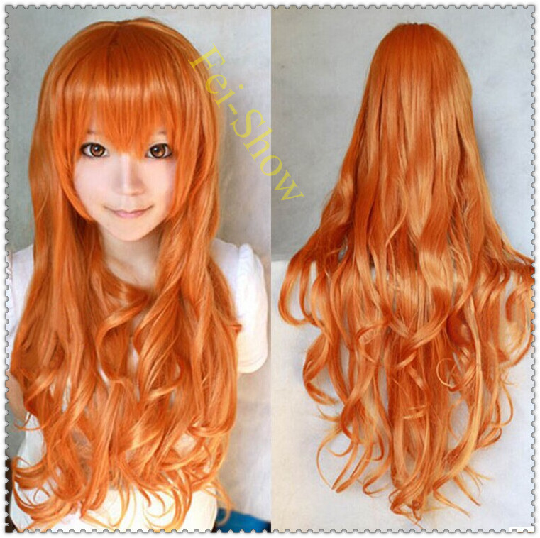 Curly Haircuts Cosplay Harajuku Anime Synthetic Long