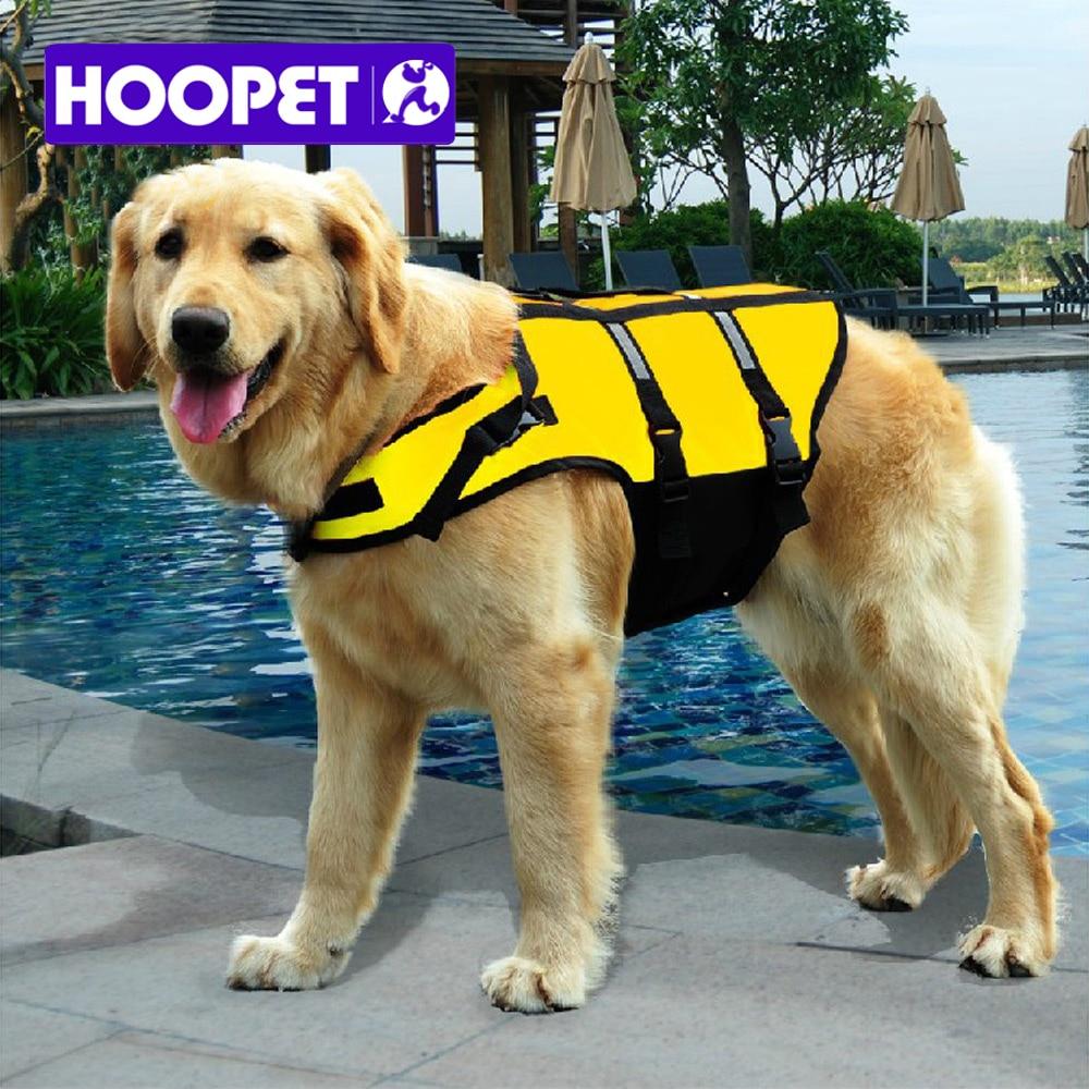 hoopet big large dog life jacket safety vest surfing swimming