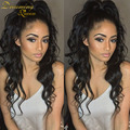 7A Glueless Full Lace Human Hair wigs For Black Women Loose Wave Peruvian virgin hair Lace Front Human Hair Wigs With Baby Hair