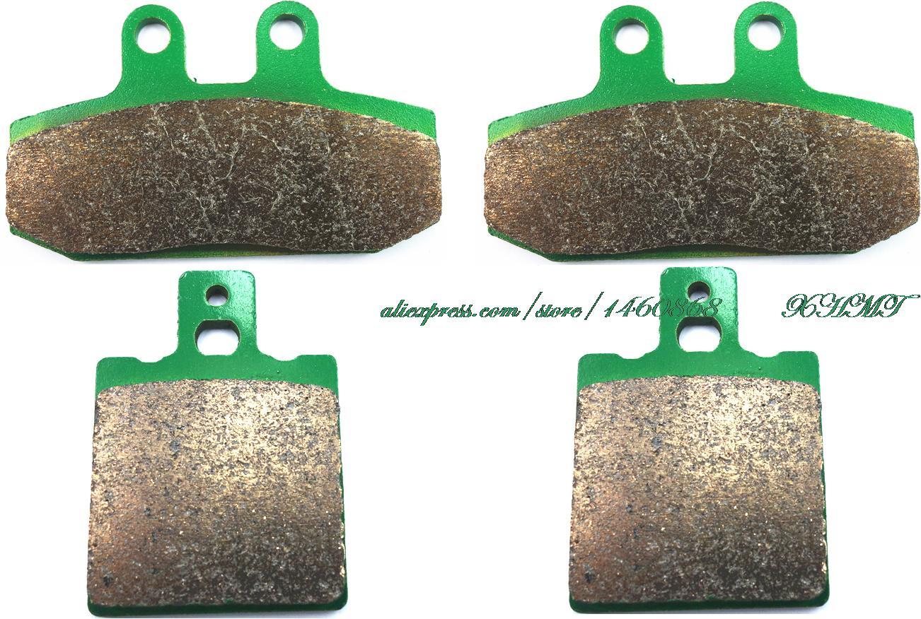 Brake Pad Set for HONDA CRM125 CRM 125 ( Italy ) 1990 1991 1992 1993 1994 1999 / NSR125 NSR 125 R F 89-92/ NSR 125 RAIDEN 90-92 silicone hose for mitsubishi eclipse pse gst gsx turbo 1990 1994 1993 1992 1991