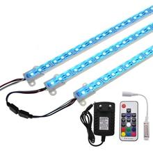 Lampa LED RGB Bar 5050 50 cm IP68 SMD36LED sztywne taśmy LED basen DC 12 V z włącznikiem zasilacz.