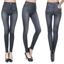 Fashion New Denim Jeans Sexy Skinny Leggings Jeggings Stretch Pencil Pants Trousers For Women