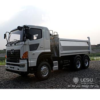 1/14 truck Hion700 full drive 6X6 hydraulic dump truck high torque electric model model LS-20130004 RCLESU Tamiya truck