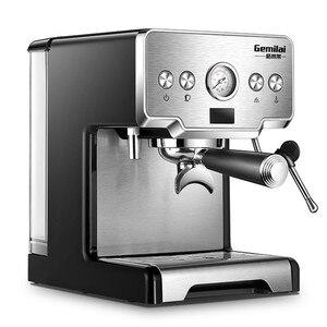Image 5 - Máquina de Espresso italiana semiautomática a presión de 15 Bar, CRM 3605 de café comercial, cafetera con depósito de agua de 220V y 1,7 L