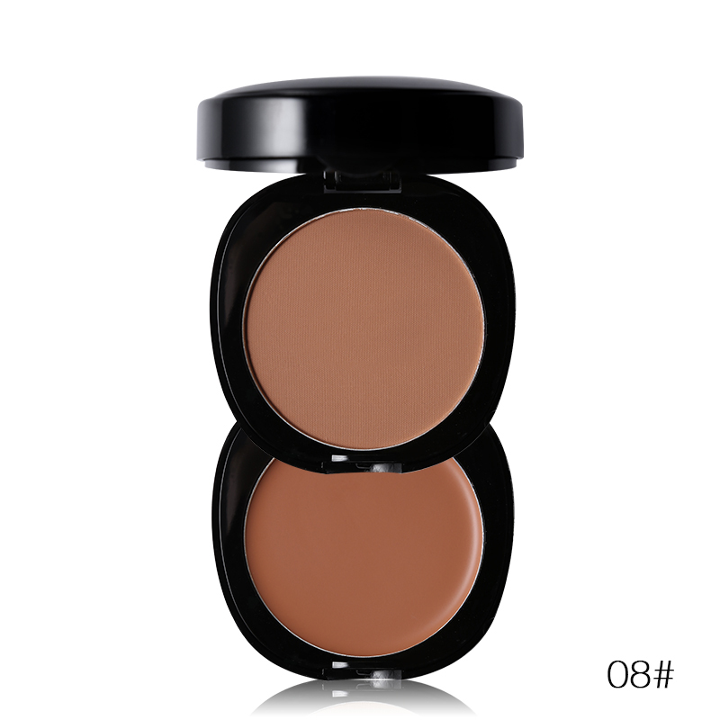 New Brand Sleek Makeup 2 In 1 Pressed Powder Face Contour Palette Mineral Bronzer Highlighter Powder clinique mineral powder makeup for face spf30