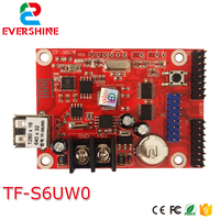 TF-S6UW led وسيطروا بطاقة WIFI + USB-القرص Led واحدة و مزدوجة اللون بطاقة وحدة التحكم tf-s6uw wifi بطاقة الاستعمال ل داخلية وخارجية