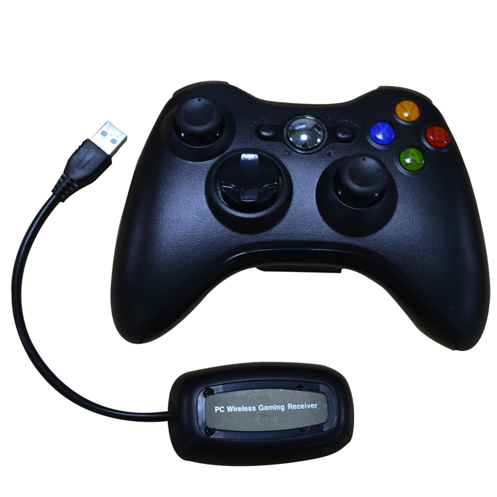 xunbeifang 50pcs 2 4G Wireless Controller For Microsoft Xbox 360 font b Gamepad b font With