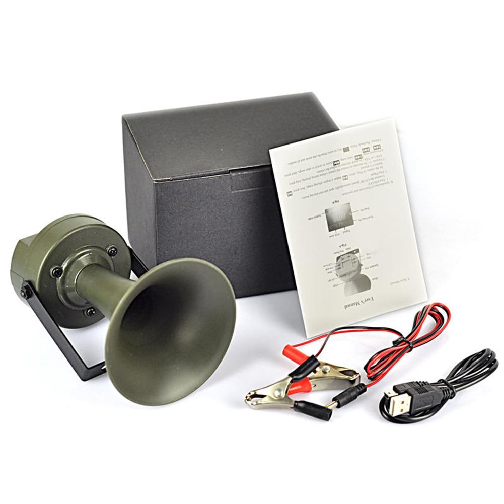 Digital Hunting Bird Caller MP3 Player 35W Speakers 130dB Bird Sound Hunting Decoy Outdoor Hunting Equipment high quality 35w digital mp3 sound 20hz 20khz bird caller 390 with big sound small speaker