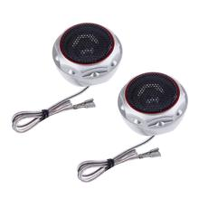 2pcs Car High Tune Speakers Car Refitting Interior Dome Loud Speakers High Frequency Components Mini Tweeter Speaker Promotion